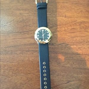 Marc By Marc Jacobs Women's Leather Strap Watch